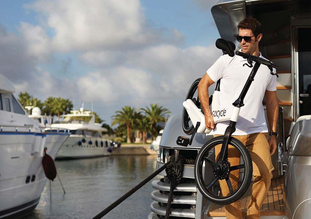 bicicletta elettrica barca