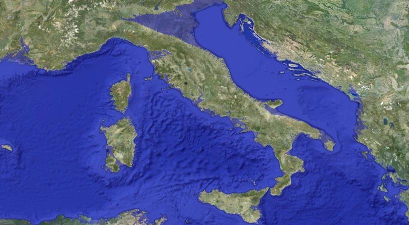 Italia innalzamento livello del mare