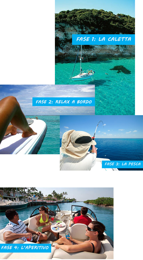 come farsi invidiare dagli amici, vacanza in barca