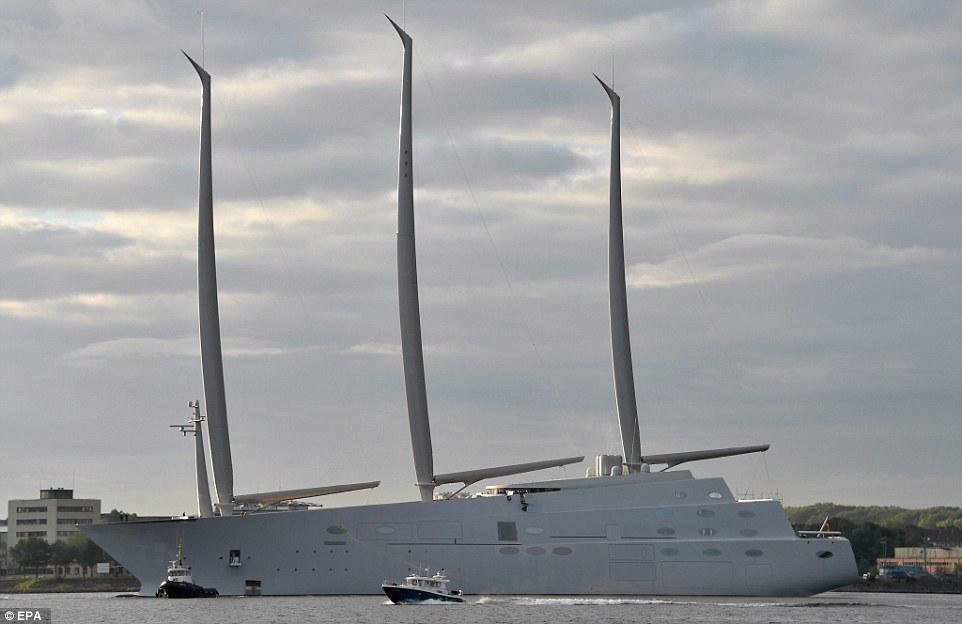 Albero di una barca più alto