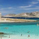 La spiaggia più bella d'Italia è La Pelosa, a Stintino